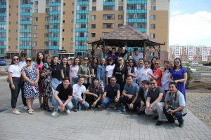 Открытие Аллеи журналистов, 21 июня