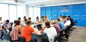 Заседание в Уральске, 10 июня